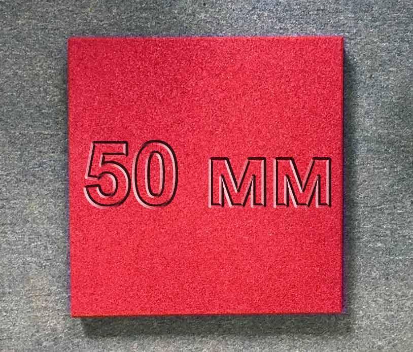 Резиновая плитка МИАН 50 мм