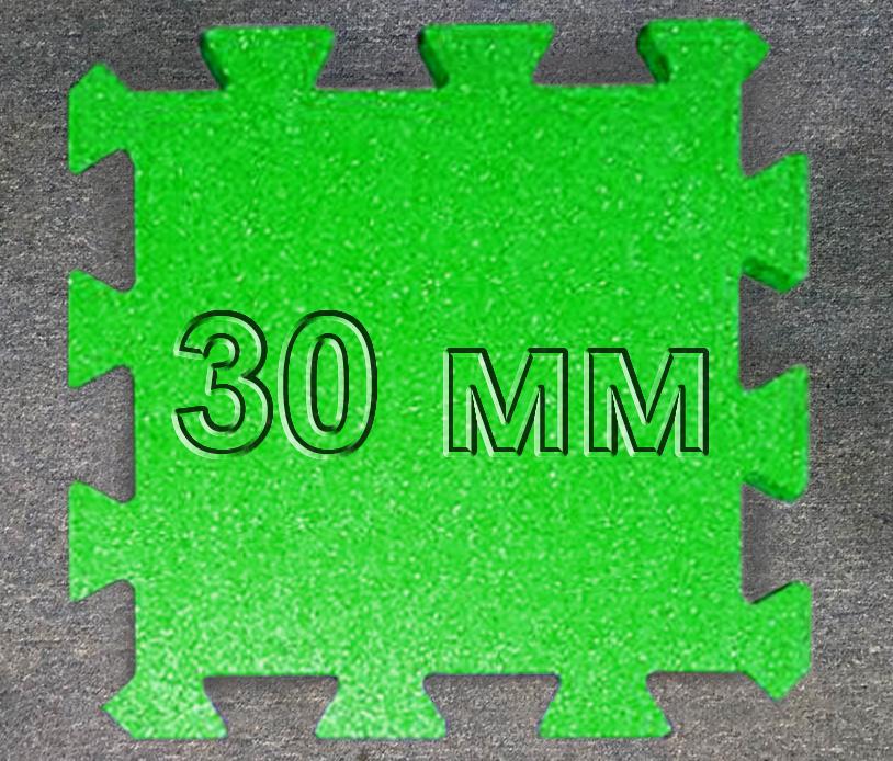 Резиновая плитка Puzzle 30 мм