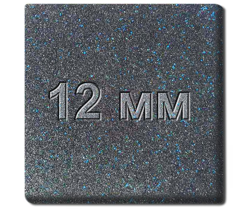 Резиновая плитка МИАН Galaxy 12 мм