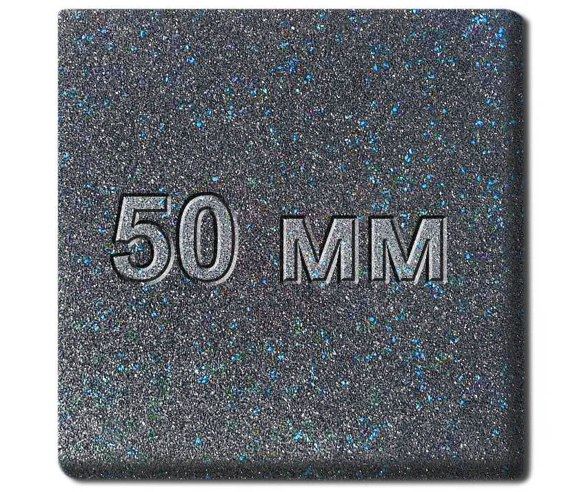 Резиновая плитка МИАН Galaxy 50 мм