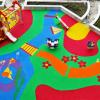 Бесшовное резиновое покрытие - детская площадка