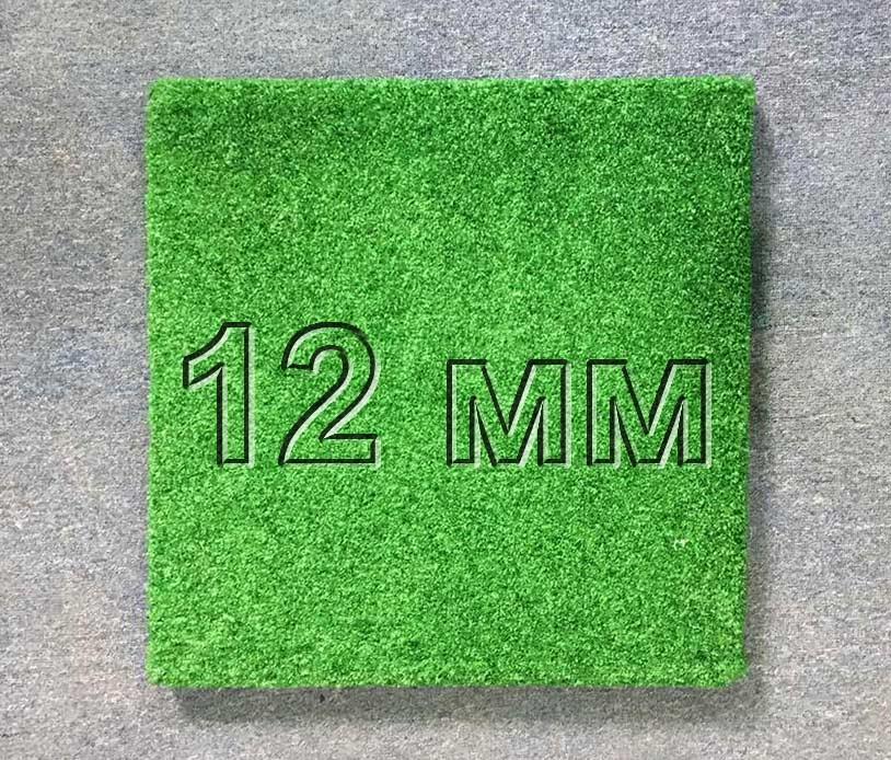Резиновая плитка МИАН 12 мм