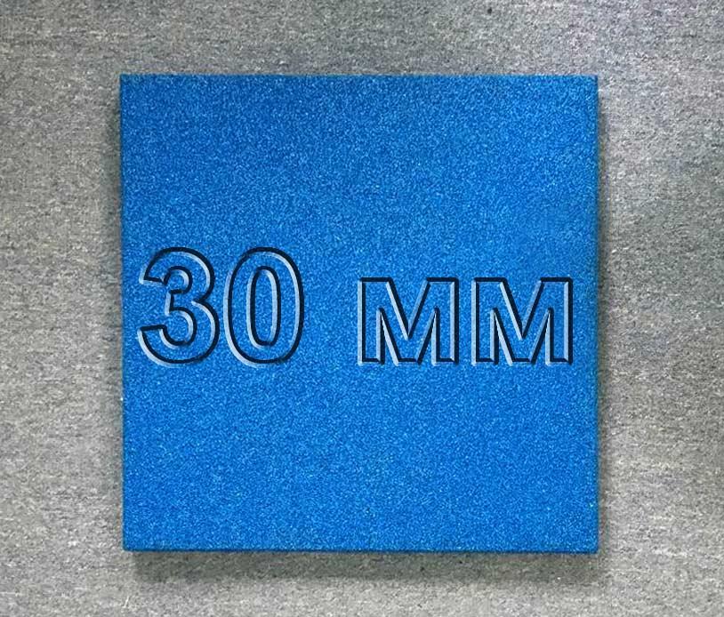 Резиновая плитка МИАН 30 мм