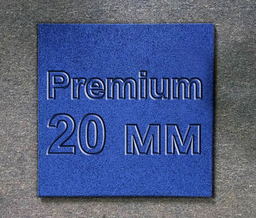 Резиновая плитка МИАН Премиум СА 20 мм